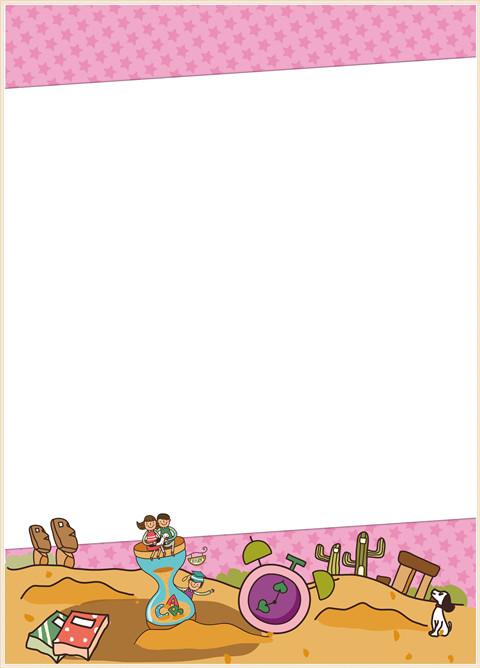 女生版40张(80面)分页图 图库-套装内页-第52张